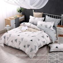 Удобная микрофибры ткань для постельные принадлежности лист с высоким качеством
