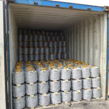 Factory price Galvanized Barbed wire coils