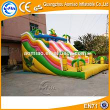 High deslizamento deslizamento n de qualidade, escorrega titânica inflável para venda, escorrega inflável para crianças e adultos