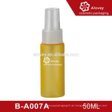 Hotel kosmetische Verpackung klare Kunststoff Airless Pumpe Flasche