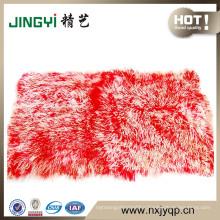 2018 Wholesale Unique Luxury Tibetan Mongolian Sheep Fur Plate