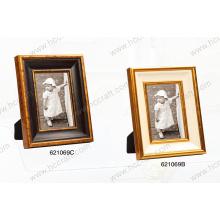 Wooden Gesso Photo Frame Art