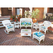 beautiful high quality garden rattan small sofa set