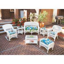 beautiful high quality garden rattan small sofa set