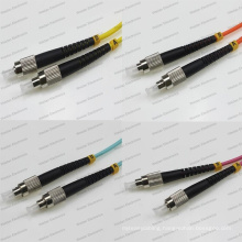 FC-FC Sm/mm/Om1/Om2/Om3/Om4 Sx 2.0/3.0 PVC/LSZH Optical Fiber Patch Cord