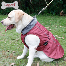 High Quality Winter Puffer Extreme Dog Coat with Reflective Linging and Paw