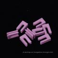 Al2o3 rosa cerámica tipo u textil calentador de cerámica piezas
