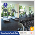 Fitness flexible rubber floor roll
