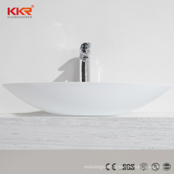 KKR Acrylic Art Basin All In One Bathroom Sink And Countertop