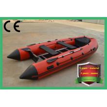 Aufblasbares Ruderboot aus PVC-Aluminiumboden