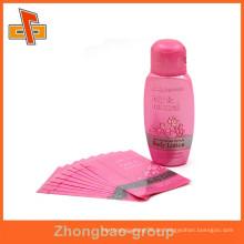 PVC / PET Schrumpfschlauch Etiketten für Bleistift / Flaschen Verpackung, Hitze schrumpfen Wrap Flasche Etiketten, schrumpfen Hülse Flasche Cap Etiketten