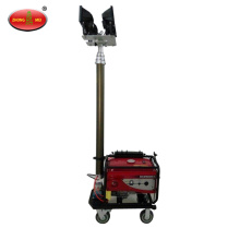 Portable Towable Diesel Generator LED Light Tower