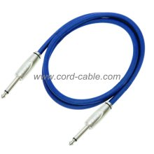 DFS Series Instrument Guitar Cable Jack to Jack Blue