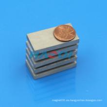 Imán permanente del smco del alto rendimiento del rectángulo 40X20X5m m