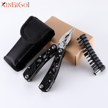 New style stainless steel folding combination pliers