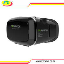 Factory Price White/Black Vr Shinecon 3D Glasses for Smartphone