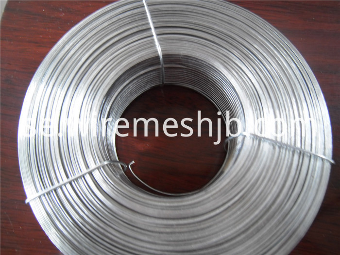 Galvanized Flat Wire