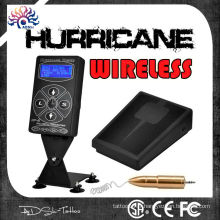 2015 hot sale hurricane hp-2 sans fil tatouage alimentation