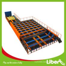 Indoor Large Adult Trampoline Park