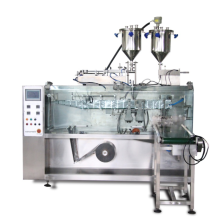Automatic horizontal paste packing machine