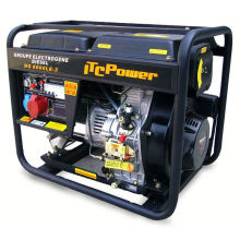 ITC-POWER generador diesel de tipo abierto 5kVA