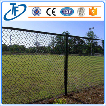 Beautiful sports field chain link fence