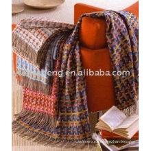 дешевые & высокое качество кашемир мода одеяло