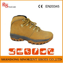 Cow Nubuck Leather Soft Sole Rigger Safety Boots RS029