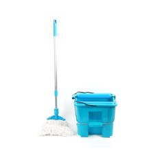 Latest model Plastic mop with wringer 14L bucket