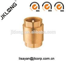 Válvula de retención de muelle de latón forjado J5003