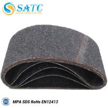 Cinto de areia de carboneto de silício preto com alta qualidade para polimento