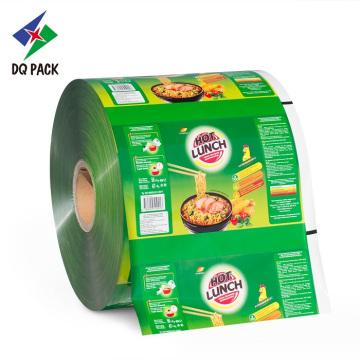 Flexible Verpackung Kunststofffolienrolle für Snack