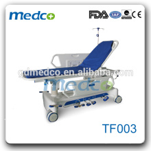 Best quanlity!!! hospital emergency trolley stretcher bed TF003