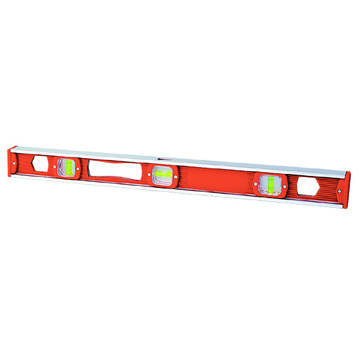 I Beam level Aluminum Reinforced Frame Plastic spirit level