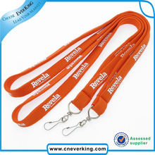 Polyester Tube Printed Lanyard with J Hook