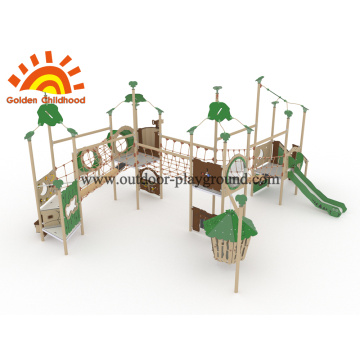 HPL Kinder multiplizieren Net Bridge mit Swing Playhouse