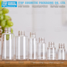 TB-AB Series 6ml 10ml 15ml 20ml 50ml 55ml lovely wide application useful and popular round clear small pet bottles