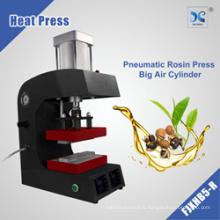 Machine de presse de colophane chaleur pneumatique