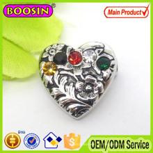 2015 Европейская экспортная магнитная брошь с кристаллами в форме сердца
