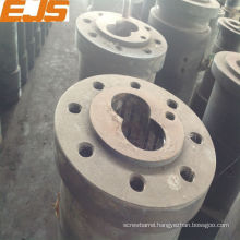high qualty alloy extruder conical twin screw
