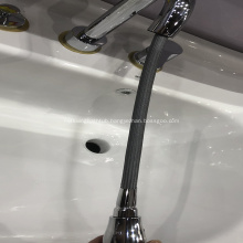 Pull-out faucet protection braided sleeve