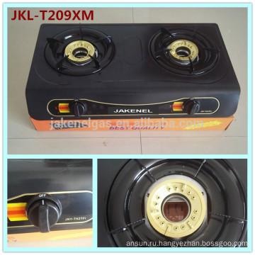 газовая плита с тефлоновым покрытием, 2 горелки, газовая плита