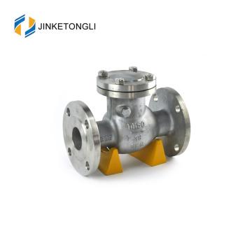 JKTLPC036 clapet anti-retour de pompe de puisard en acier forgé sans ressort