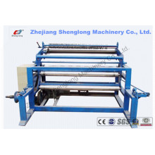 Hohe Effizienz Vollautomatische Leder Papier Chemische Faser Nonwoven-Slitting-Maschine