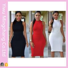 OEM 7 cores mais tamanho mulheres sexy emagrecimento vestido