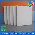 Folha de madeira da espuma do PVC que produz a fábrica (densidade: 0.4-0.8g / cm3)
