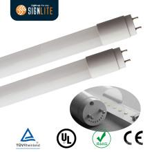 UL Dlc ETL Mejor reemplazo fluorescente 110lm / W 18W 4FT T8 LED Luz del tubo