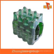Tubes thermorétractables transparents flexibles à base de PVC / PET / POF / PE personnalisables pour boîtes d'emballage