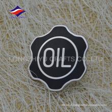 Fashional emblema de prata de esmalte exclusivo, fabricado na China