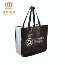 2018 new fashion top quality recycled & reusable laminated non woven tote bag